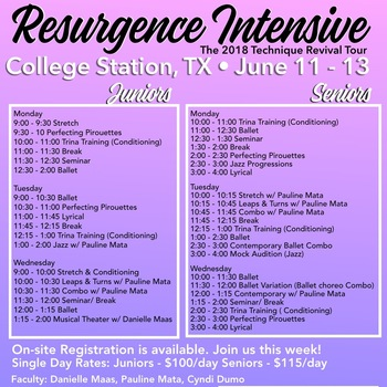 Resurgence Intensive June 11-13