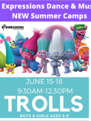 Trolls Summer Camp