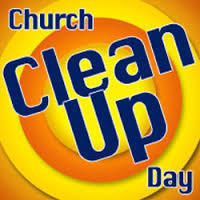 Clean Up the Church Day - All Saints Youth