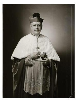 Most Reverend Walter Philip Kellenburg Sixth Bishop of Ogdensburg (1954-1957)