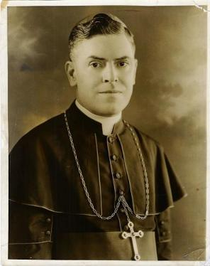 Most Reverend Francis Joseph Monaghan Fourth Bishop of Ogdensburg (1939-1942)
