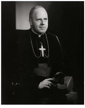 Most Reverend Thomas Andrew Dennellan Ninth Bishop of Ogdensburg (1964-1968)