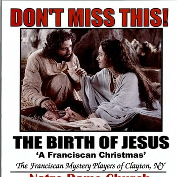 12/9 The Birth of Jesus