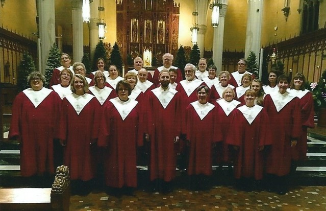 Choir at Cathedral concert 2018