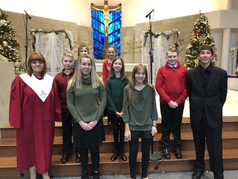 junior choir Holiday concert