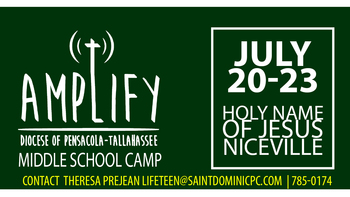 Amplify Middle School Camp July 20-23