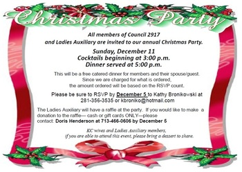 Council Christmas Party