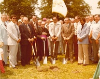 Ground Breaking Ceremony for Odin Hall
