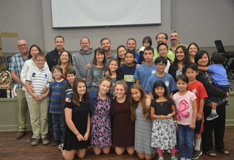 Families Celebrate StJPII Feast Day at Family Retreat