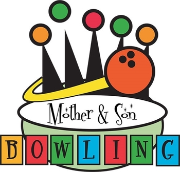 Mother & Son Bowling