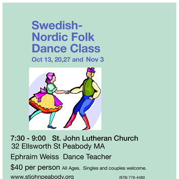 Swedish-Nordic Folk Dance Classes