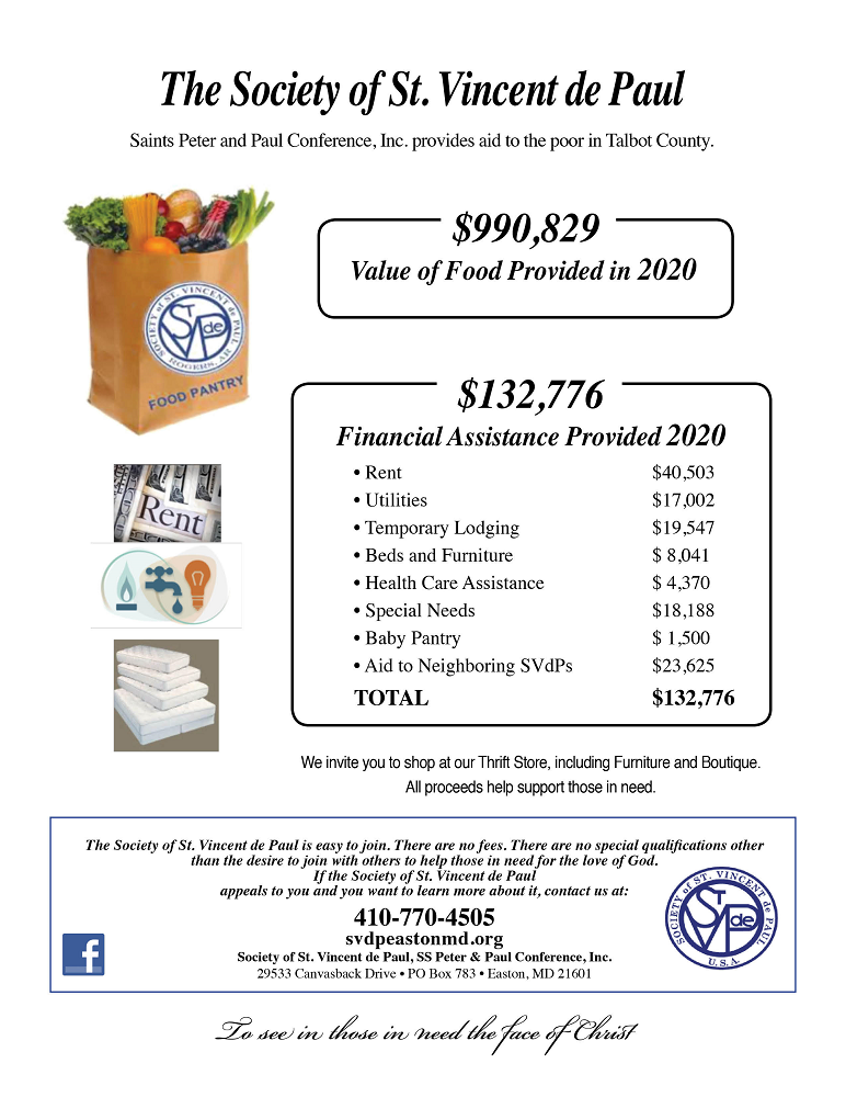your donations food pantry and financial assistance