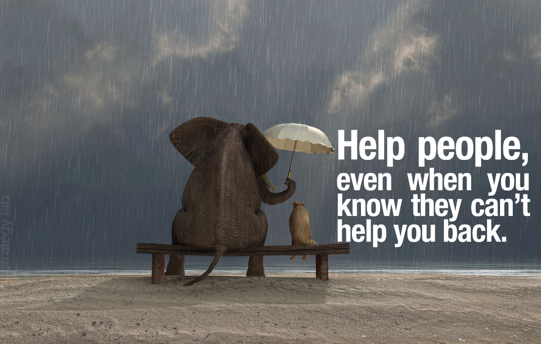 Volunteer today!  Help others!  Help the needy.  Feed people.  Give a hand.