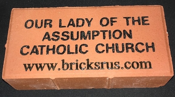 Our Lady of the Assumption Brick Paver