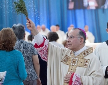 The Archibishop of Trani, Mons. Giovan Battista Pichierri, has left for the Father's house/