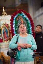 Thousands gather for Walk With Mary in honor of Our Lady of Guadalupe