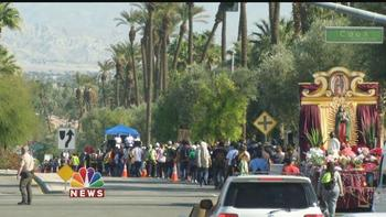 Thousands of Pilgrims Walk in Honor of Our Lady of Guadalupe