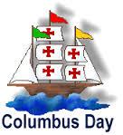 No Faith Formation Class - Columbus Day