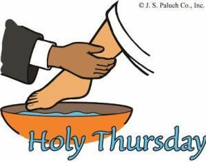 Holy Thursday - Confirmation I & II to attend services