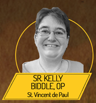 Sister Kelly Biddle, OP  (Dominican Sisters, Congregation of the Sacred Heart)