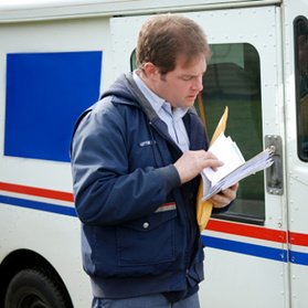 Mail a check or drop off in person