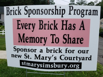Brick Sponsorship Program - Don't Miss Out!
