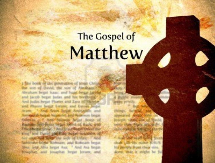 gospel of mark mathew