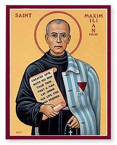 Celebrate the Feast of Saint Maximilian Kolbe