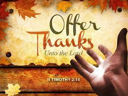 Join us for Mass on Thanksgiving Day