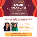 Catholic Schools- Virtual Talent Showcase