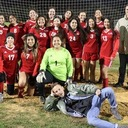 Saints Women's Soccer Team Capture TAPPS III District 3 Championship
