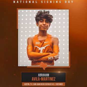 Abraham Avila-Martinez signs National Letter of Intent to University of Texas at Austin