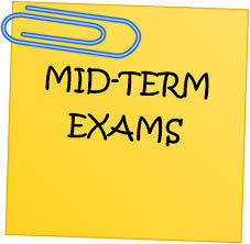 Mid-Term Exam Schedule