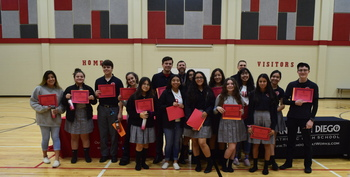 Over 80 SJD STUDENTS MAKE HONOR ROLL
