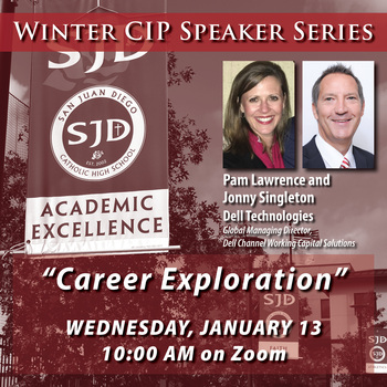Winter Speaker Series with Pam Lawrence from Dell Technologies