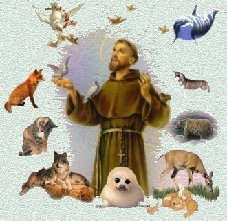 BLESSING OF THE ANIMALS - OCTOBER 4, 4 p.m.