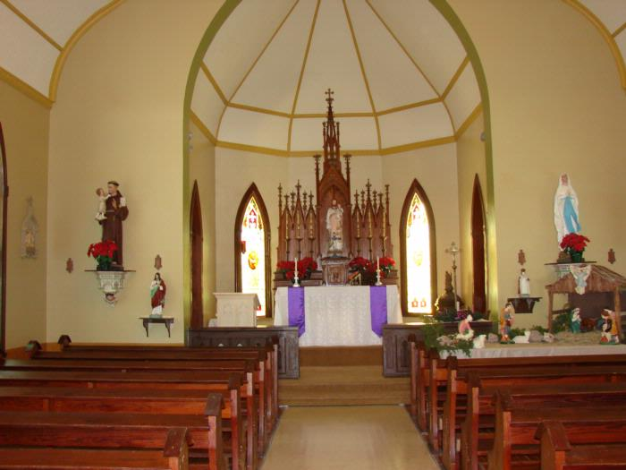 New Refreshed St  Joseph Chapel Photos | Saints Peter and