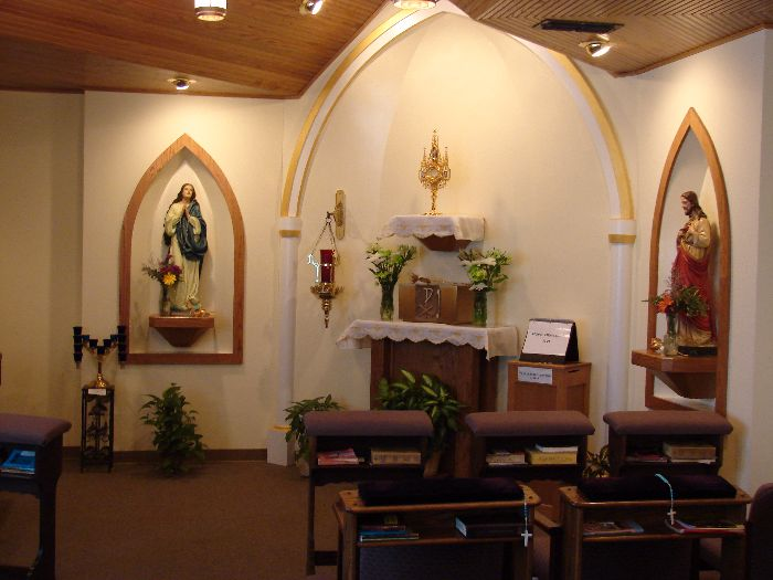 Adoration Chapel Recognized