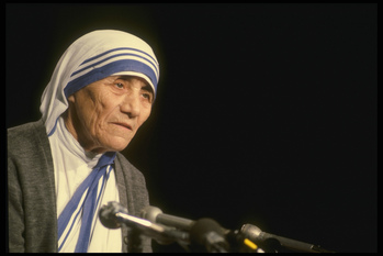 Exhibit on the Life of Mother Teresa