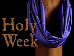 Holy Week and Easter Schedule/Horario de Semana Santa y Pascua