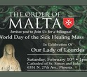 World Day of the Sick Healing Mass and Health Fair