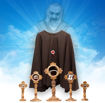 The national tour of Relics of St. Pio of Pietrelcina coming to the Cathedral