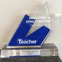 Ss. Simon & Jude Cathedral School was recognized as one of the top schools in the nation!