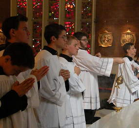Altar Boy Training