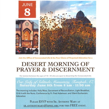Desert Morning of Prayer and Discernment