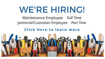 Janitorial / Custodian Employee Needed (Part Time)