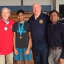 Franklin Boy wins 2019 Knights of Columbus Free Throw Contest