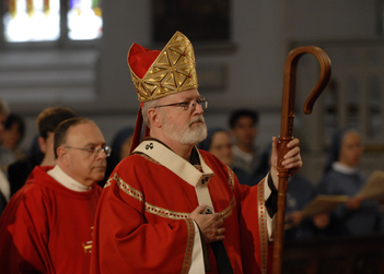 Mass with Cardinal O' Malley
