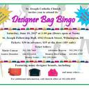 Designer Bag Bingo - Saturday, June 10, 1pm