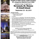 KPC Ladies Auxiliary-Annual Bus Excursion: Savannah, GA Sept 23-28, 2019